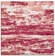 rug #1314235 | square white abstract rug