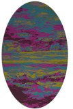 rug #1314443 | oval abstract rug