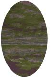 rug #1314503 | oval green popular rug