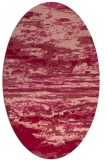rug #1314600 | oval abstract rug