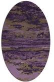 rug #1314615   oval purple rug