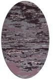rug #1314619   oval purple popular rug