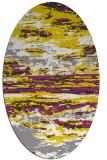 rug #1314691   oval white abstract rug