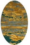 rug #1314696 | oval abstract rug