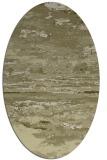 rug #1314707   oval light-green abstract rug