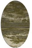 rug #1314715   oval light-green abstract rug