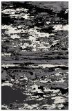 rug #1314735 |  black abstract rug
