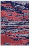 rug #1314823 |  blue-violet abstract rug