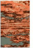 rug #1314955    red-orange abstract rug