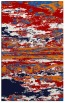 rug #1314991    red abstract rug