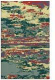 rug #1315067    blue-green abstract rug