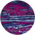 rug #1315135   round pink abstract rug