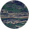 rug #1315139 | round abstract rug