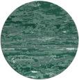 rug #1315155 | round blue-green rug
