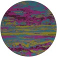 rug #1315179 | round pink abstract rug