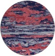 rug #1315191 | round pink abstract rug
