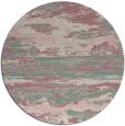 rug #1315223 | round pink rug