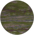rug #1315239 | round green popular rug