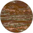 rug #1315251   round brown abstract rug