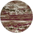 rug #1315259 | round mid-brown popular rug