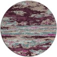 rug #1315267 | round pink abstract rug