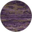 rug #1315351 | round purple rug