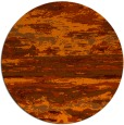 rug #1315375   round red-orange abstract rug