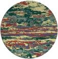 rug #1315435 | round yellow popular rug