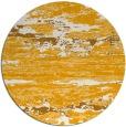 rug #1315455 | round light-orange abstract rug