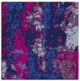 rug #1315871 | square blue abstract rug