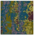 rug #1315911 | square green abstract rug