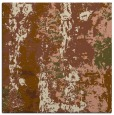 rug #1315987 | square brown abstract rug