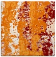 rug #1316051 | square orange abstract rug
