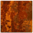rug #1316111 | square red-orange abstract rug
