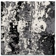 rug #1316127 | square black abstract rug