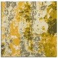rug #1316155 | square yellow abstract rug