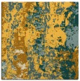 rug #1316167 | square yellow abstract rug