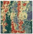 rug #1316171 | square yellow rug
