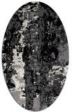 rug #1316207 | oval white rug