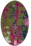 rug #1316250 | oval abstract rug