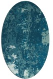 rug #1316271   oval blue-green abstract rug
