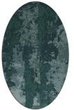 rug #1316276 | oval abstract rug