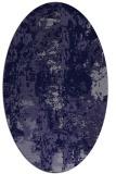 rug #1316287   oval blue-violet rug