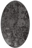 rug #1316360 | oval abstract rug