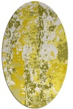 rug #1316499   oval white abstract rug