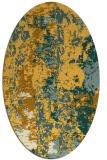 rug #1316535   oval light-orange abstract rug