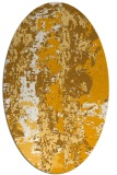 rug #1316561 | oval abstract rug