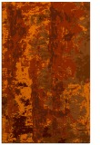 rug #1316847    red-orange abstract rug