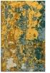 rug #1316903 |  light-orange abstract rug