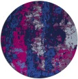 rug #1316975 | round blue abstract rug